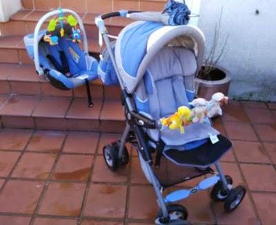 Trio Jane Azul y Gris de Segunda Mano.