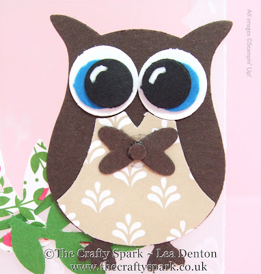 owl builder punch stamping up