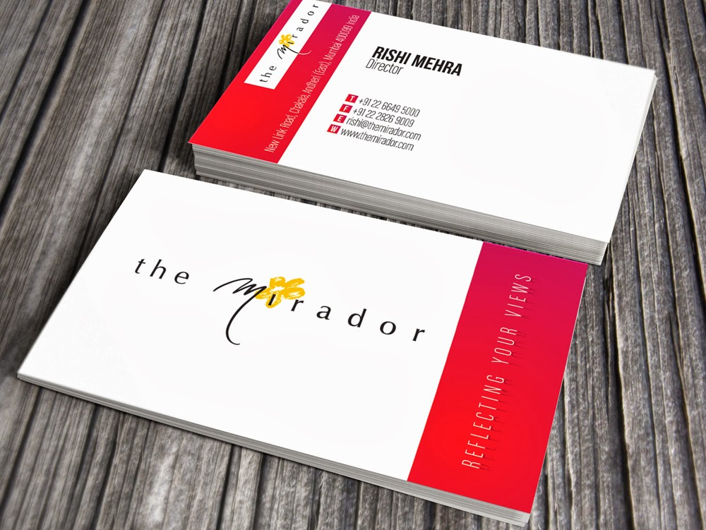 Kreative quest mirador hotel business card options mirador hotel business card options colourmoves Images