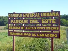 Reserva Natural Urbana junto a Aves Argentina