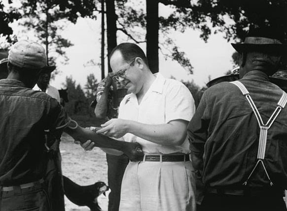 Tuskeegee syphyllis experiment blood sample