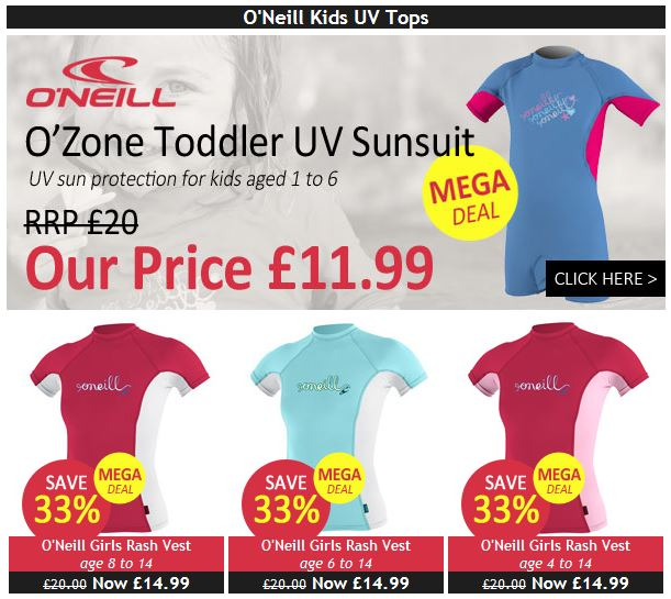 Cheap Kids UV Tops