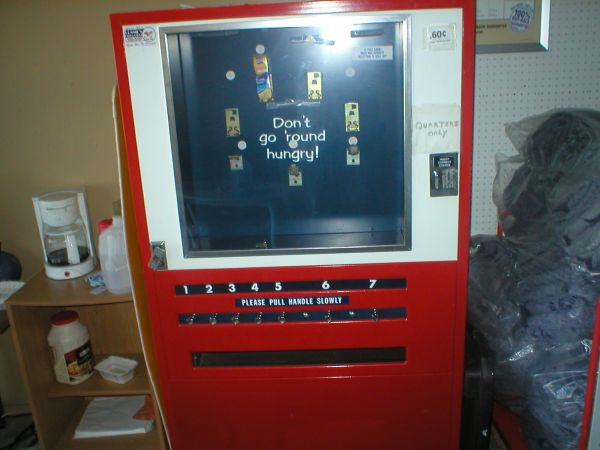 lance snack machine