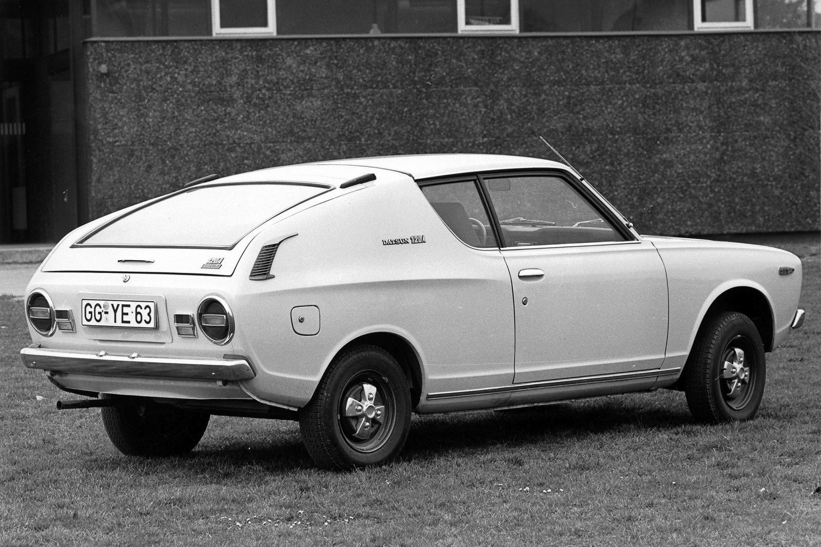 FAB WHEELS DIGEST FWD Datsun Cherry Coupe 1st