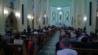 Missa na Igreja de Santa Teresa em memória as vitimas da tragédia de 2011