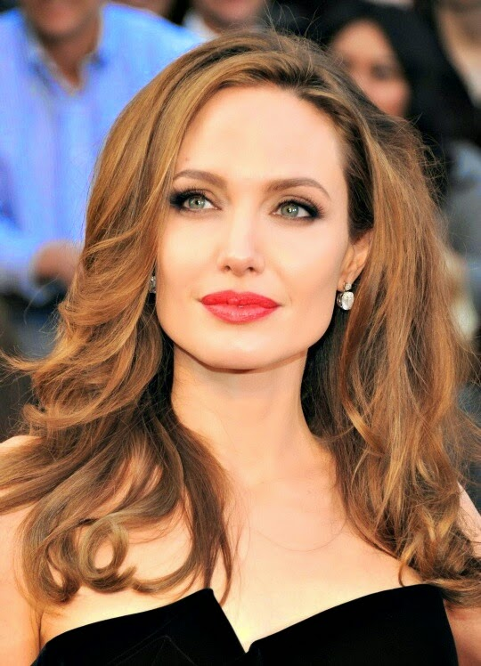 Amato ANGELINA JOLIE..make-up look | LunaFashionBeauty NV83
