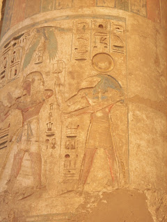 Thoth - Egyptian God of Writing - Medinet Habu