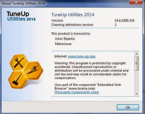 Tune Up Utilities Update 2014