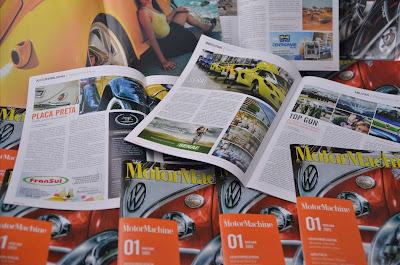 Revista MotorMachine: para ler e colecionar.