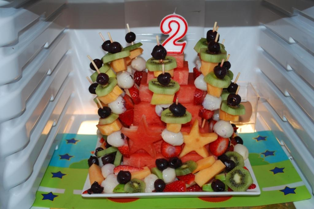 Healthy Party Finger Food Kids Birthday Idea