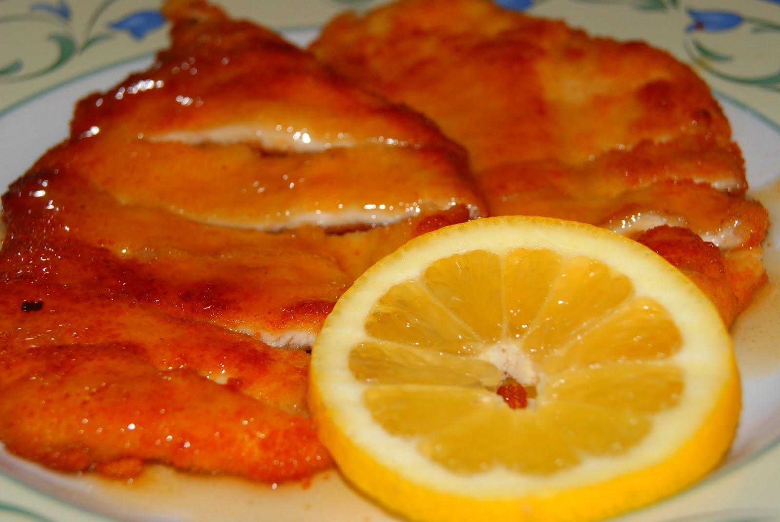 Filetes de pechuga de pollo al limon receta china El G de Sasa