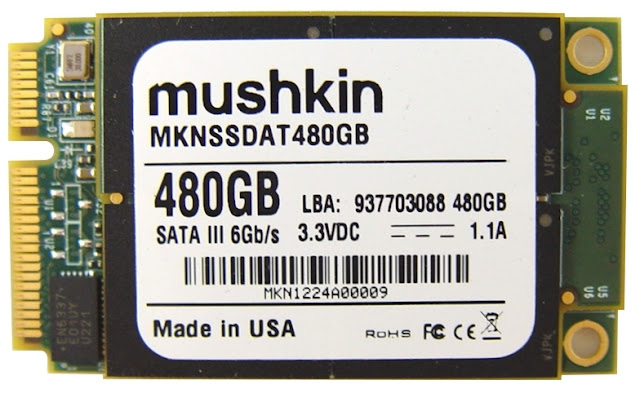 Mushkin 480GB mSATA SSD  
