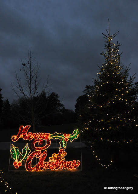 Christmas at Hever Castle, Kent, England 2015