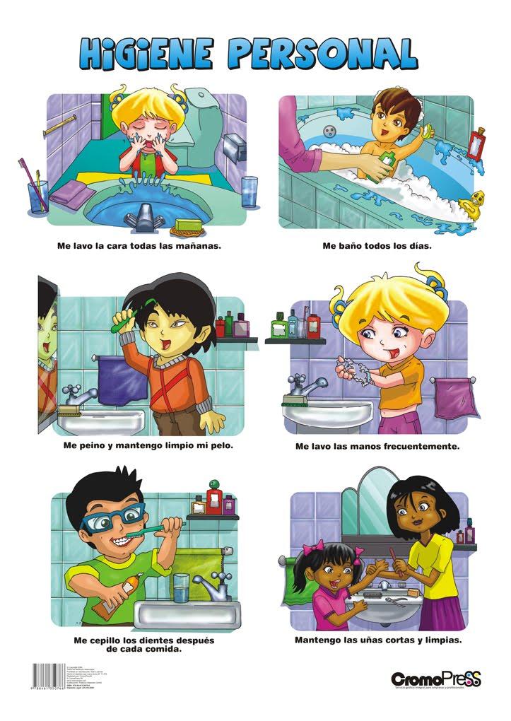 Mi Escuela Divertida: Higiene Personal: Imágenes para trabajar en ...