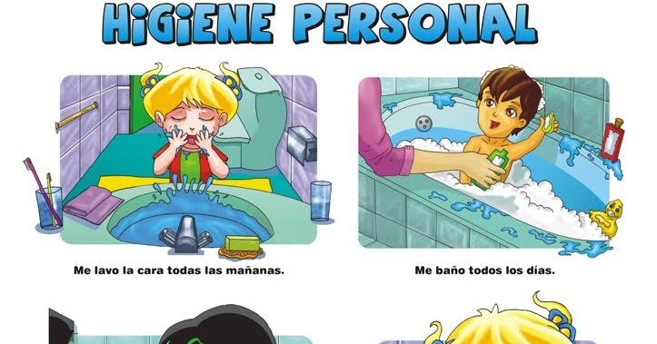 Ir Al Baño Color Amarillo:Mi Escuela Divertida: Higiene Personal: Imágenes para trabajar en