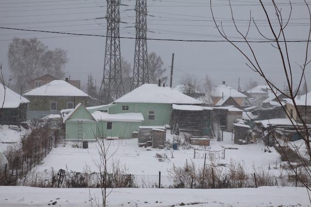 Siberia snow weather november