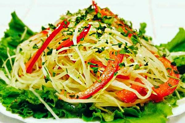 ensalada, col, alimentación, alimentación sana, pimientos, ensaladas, ensalada light,