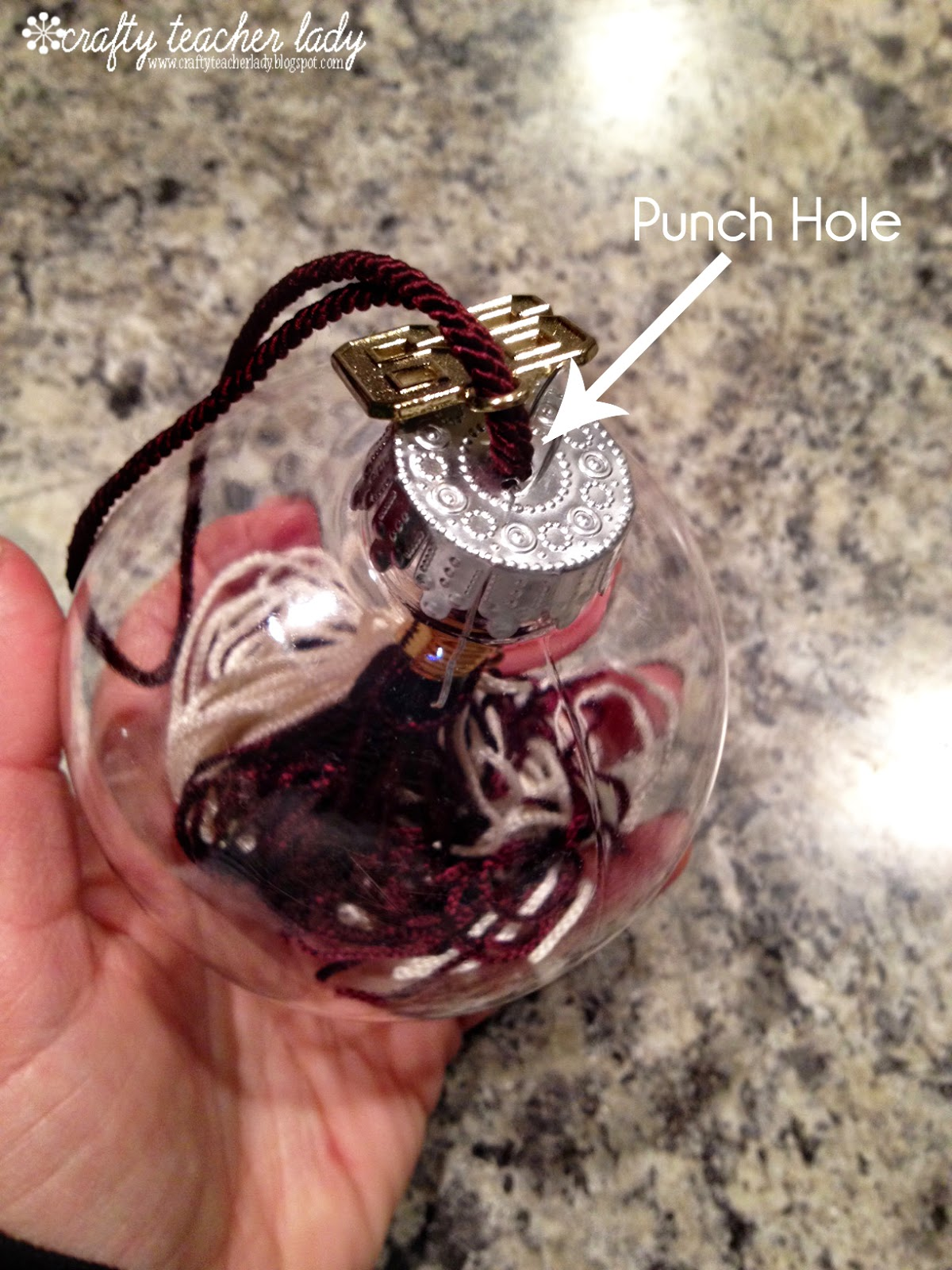 Graduation christmas ornament - The Tassel From My High School Graduation Is Extra Special To Me Now Since I M Back Teaching At My Alma Mater I M Going To Share The Idea With My Senior