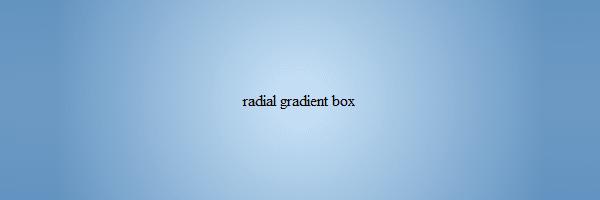 CSS Gradient Background
