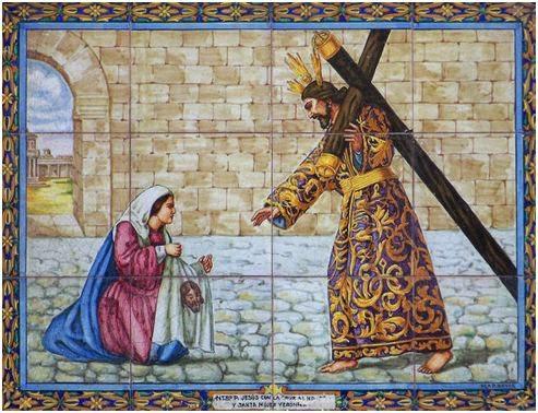 6º estación Ntro. Padre Jesús con la Cruz al Hombro