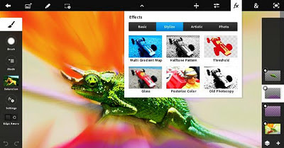 Android : Adobe Photoshop Touch 1.0.0 Apk for Android Tablet