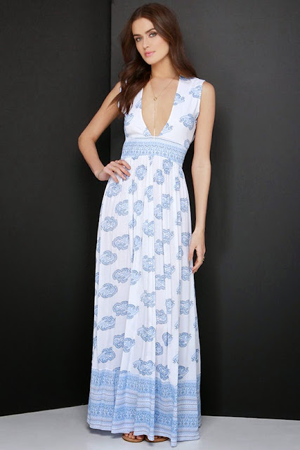 Orchard Ivory Print Maxi Dress. Summer comfort with style for only 133$