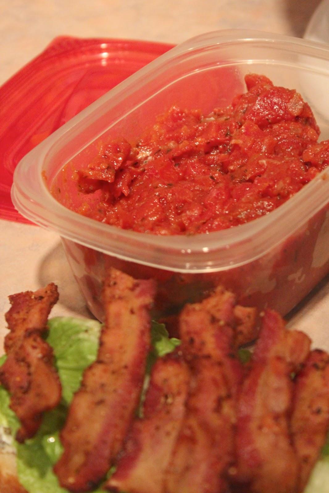 Cape Cod Scrapper: Bacon Lettuce and Tomato Jam sandwich!