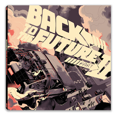 Back to the Future Part II Soundtrack Vinyl Records by Mondo with artwork by Matt Taylor