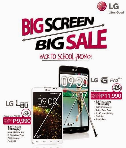 LG Philippines Big Screen, Big Sale Promo