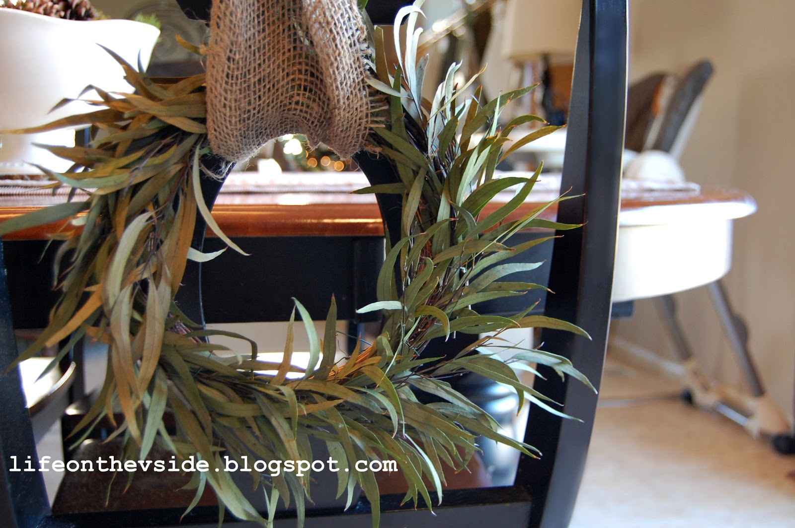 on the v side ballard inspired diy mini chair wreath for under 5 ballard inspired diy mini chair wreath for under 5