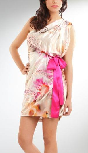 vestidos asimétricos cortos 2011