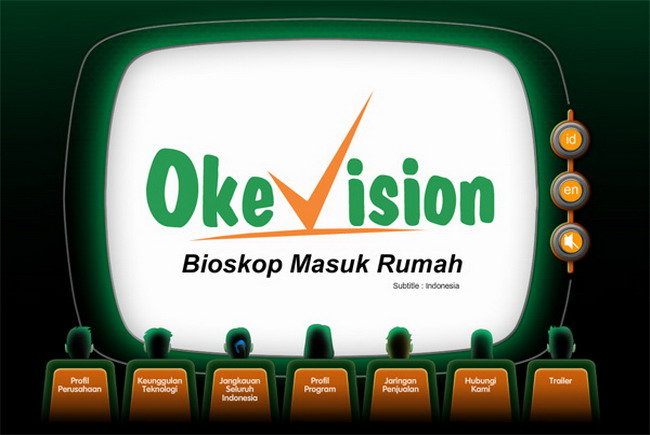Program promosi terbaru Okevision April 2014.