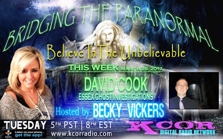 JOIN ME ON BRIDGING THE PARANORMAL