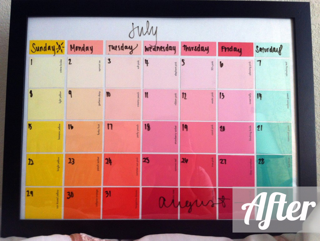 Life as a Thrifter: Wednesday Redo: Paint Strips