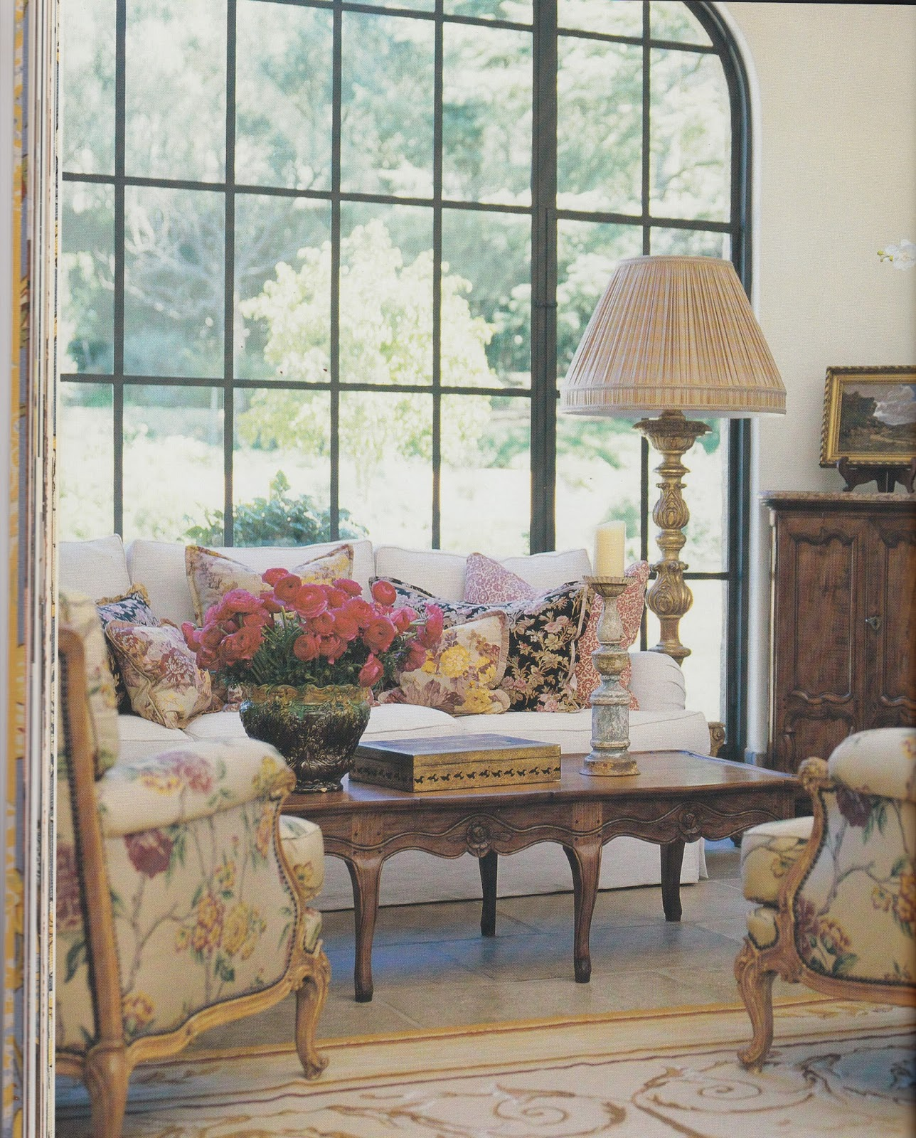 French Country Cottage Feature: Hydrangea Hill Cottage: French Country