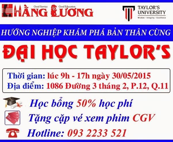 Huong nghiep kham pha ban than tai dai hoc Taylors