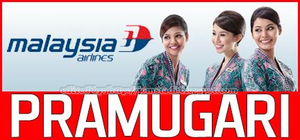 Jawatan Kosong: TemudugaTerbuka Pramugari MAS