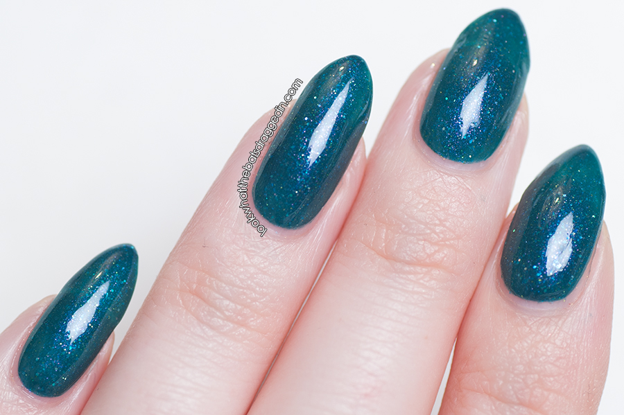 Arcane Lacquer Graphic Nature nail polish swatch