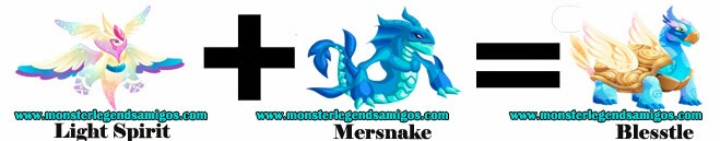 como obtener el monstruo blesstle en monster legends formula 1