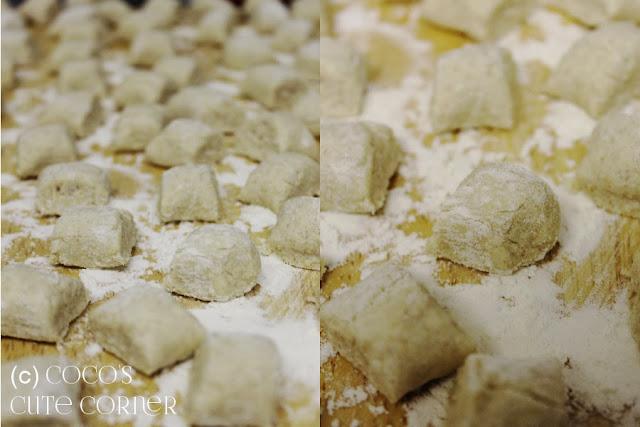 Ricotta Gnocchi with Sage Garlic Butter