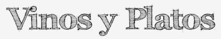 VINOS  y PLATOS