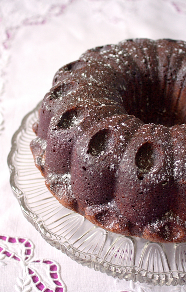 chocolate flavour, this milkshake bundt cake has a surprise tunnel ...