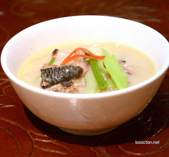 Threadfish Fish Soup with Coriander and Leek - RM98