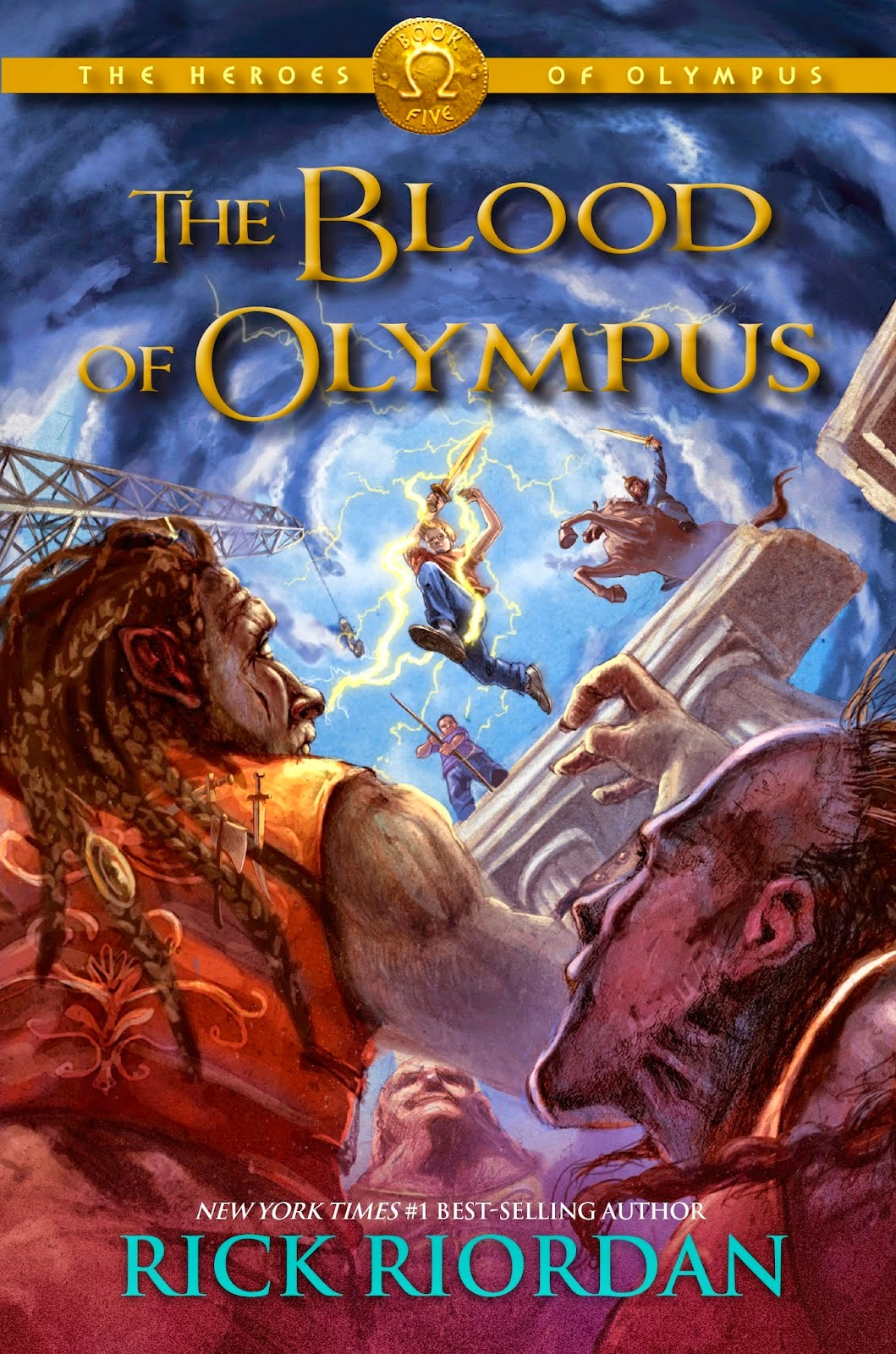 the blood of olympus, john rocco, tboo, by rick riordan, cover reveal large hd, the heroes of olympus