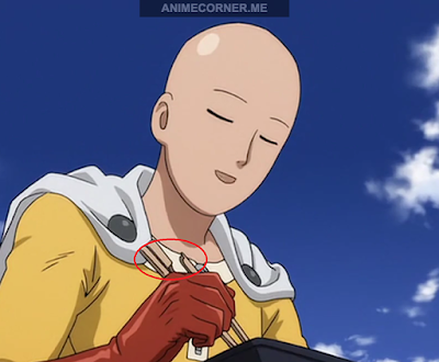 This small detail in OVA really cracked me up. Classic Saitama (no spoil)