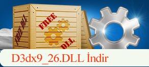 D3dx9_26.dll Hatası çözümü.