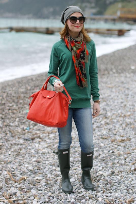Hunter wellies, Longchamp bag, Fashion and Cookies