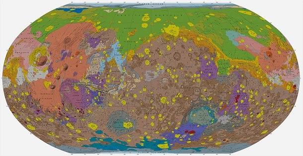 Veja o novo mapa mais completo de Marte (com video)