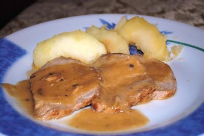 arrosto di maiale alle mele