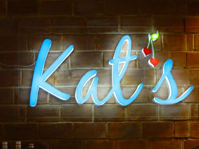 Late lunch at Kat's Cafe
